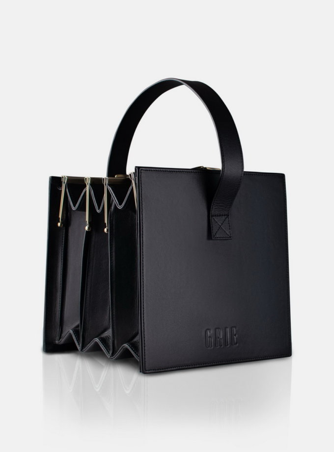 Шкіряна сумка Multi Clasp bag 4 GR_MULTI_4, фото 1 - в интернет магазине KAPSULA