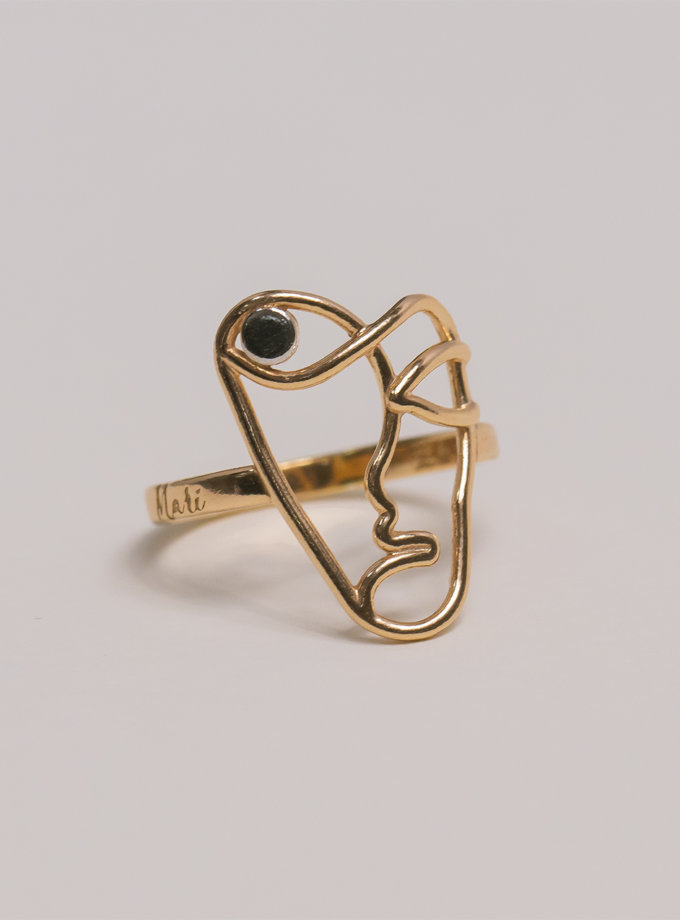 Серебряное кольцо Garmony rose MJA_18700, фото 1 - в интернет магазине KAPSULA
