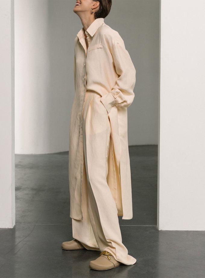 Платье-рубашка свободного кроя SHKO_21017001, фото 1 - в интернет магазине KAPSULA