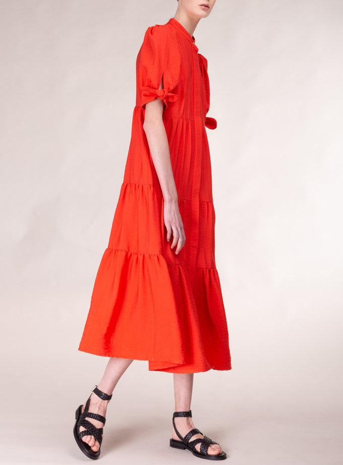 Платье свободного кроя ALOT_100484, фото 1 - в интернет магазине KAPSULA