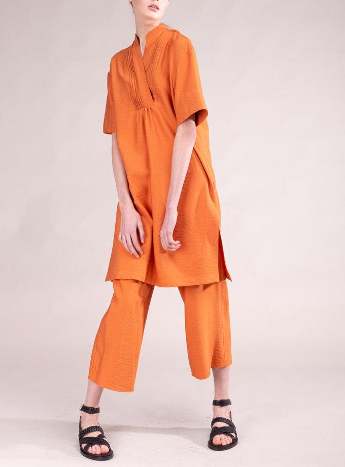 Льняные брюки свободного кроя ALOT_030157, фото 1 - в интернет магазине KAPSULA