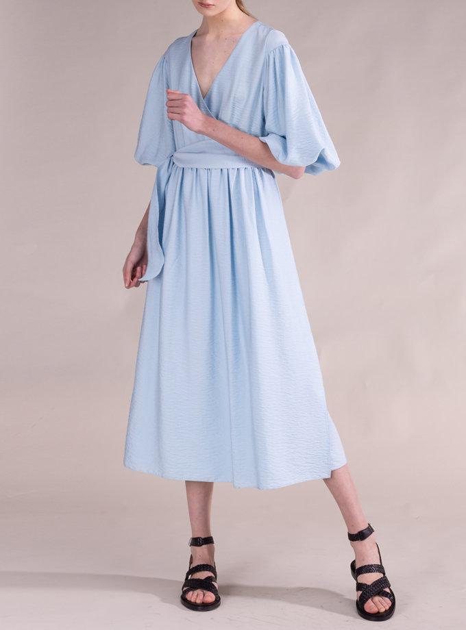 Льняное платье ALOT_100489, фото 1 - в интернет магазине KAPSULA