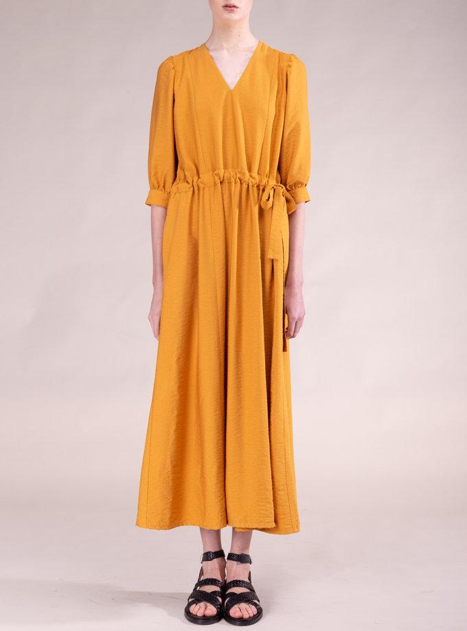 Льняное платье ALOT_100501, фото 1 - в интернет магазине KAPSULA