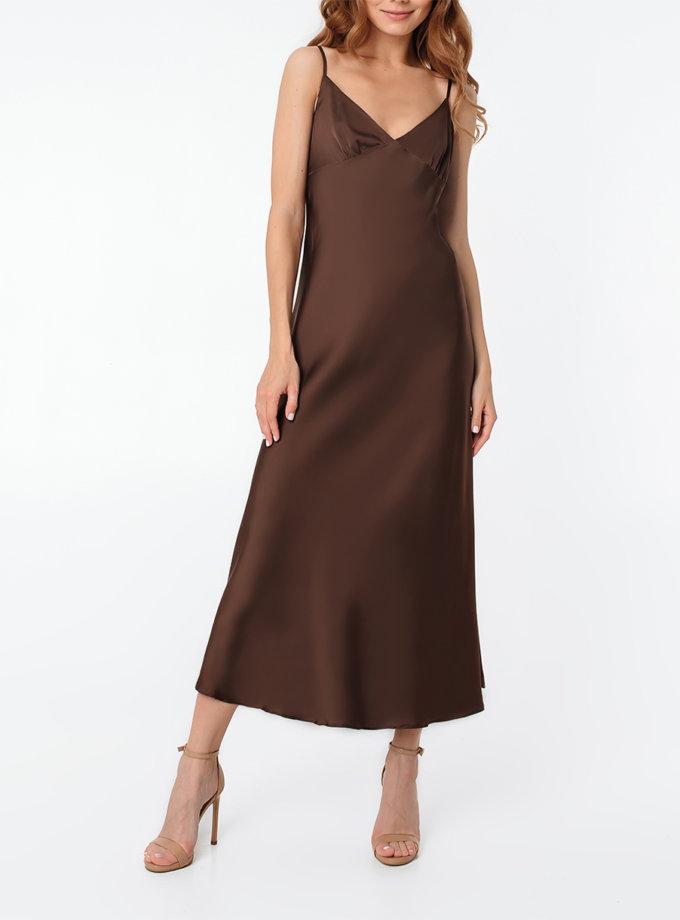 Платье-комбинация миди MGN_1713CH, фото 1 - в интернет магазине KAPSULA