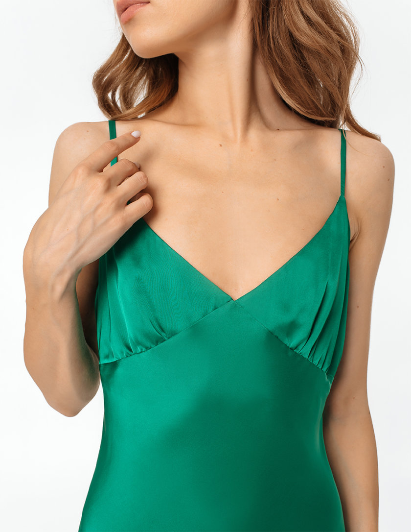 Платье-комбинация миди MGN_1713GN, фото 1 - в интернет магазине KAPSULA