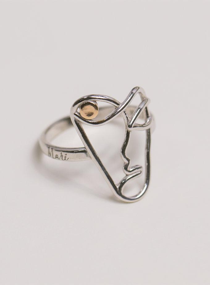 Серебряное кольцо Garmony white MJA_18702, фото 1 - в интернет магазине KAPSULA