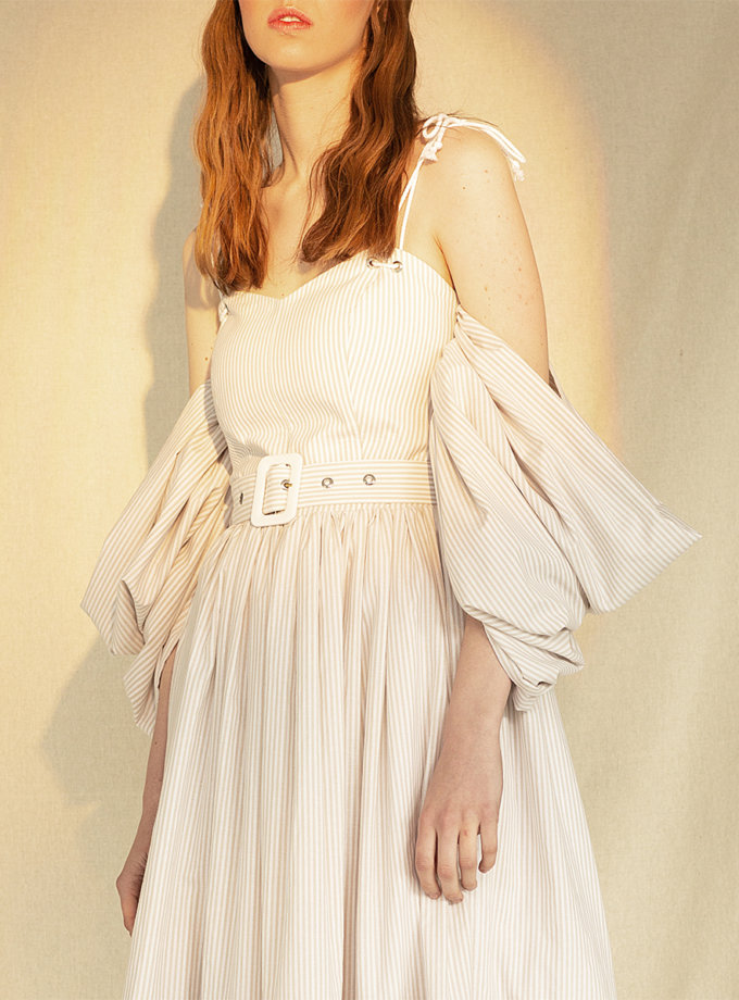 Сукня-корсет з бавовни MF-CR19-18, фото 1 - в интернет магазине KAPSULA