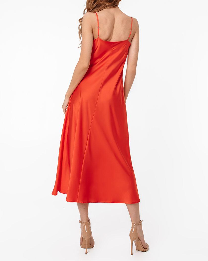 Платье-комбинация миди MGN_1713OG, фото 1 - в интернет магазине KAPSULA