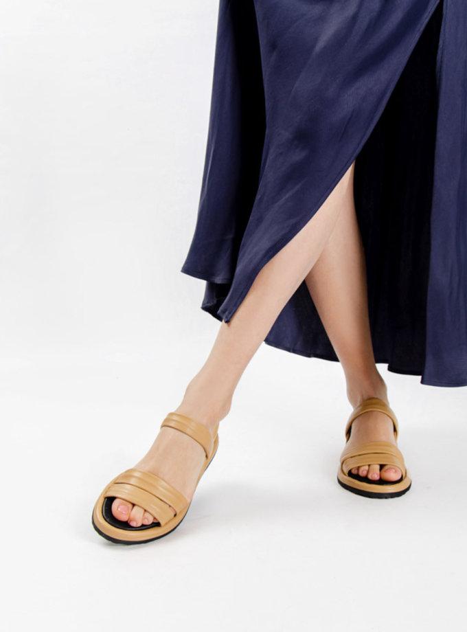 Шкіряні босоніжки CRS_21-00339, фото 1 - в интернет магазине KAPSULA