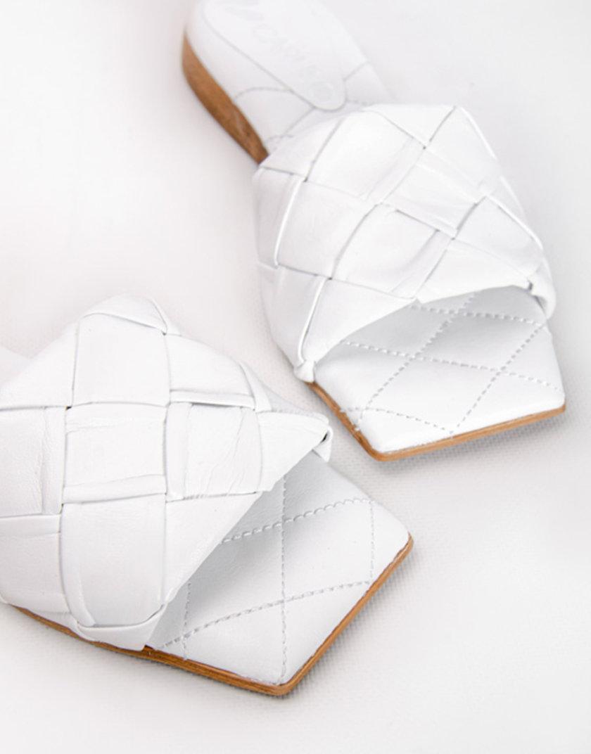 Кожаные шлепанцы Eva CRS_21-00427, фото 1 - в интернет магазине KAPSULA