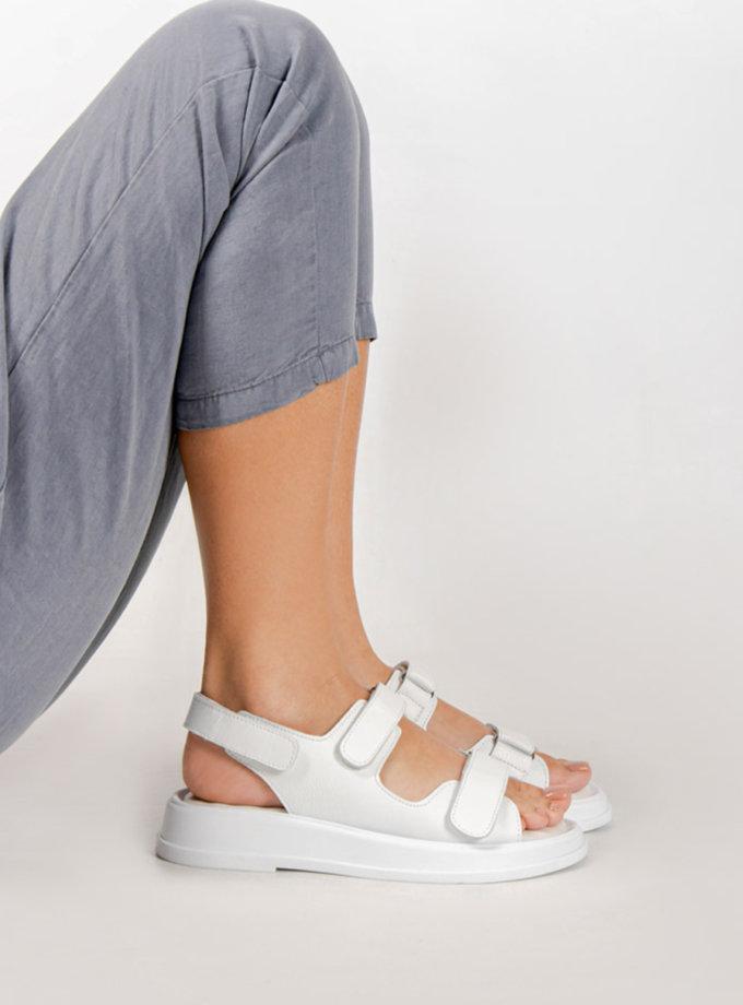 Шкіряні босоніжки CRS_21-00498, фото 1 - в интернет магазине KAPSULA