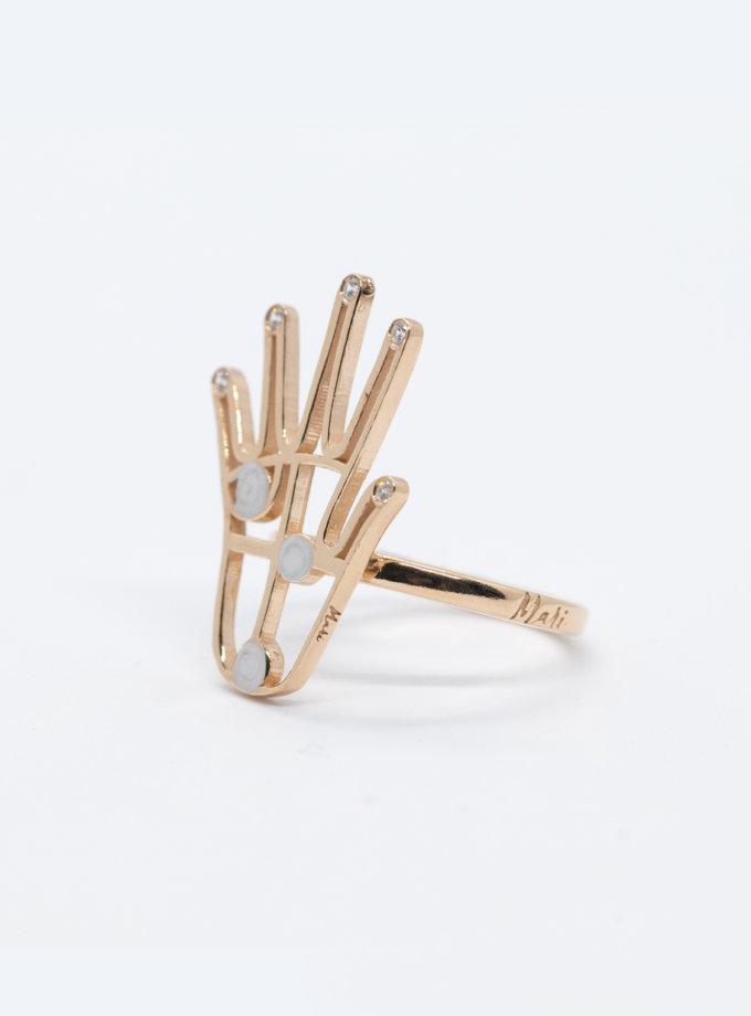 Серебряные кольцо FiveFi rose MJA_18718, фото 1 - в интернет магазине KAPSULA