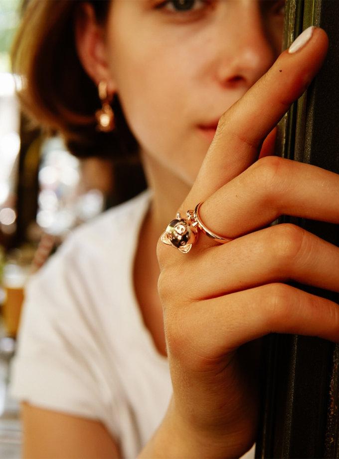 Серебряное кольцо MiliPi rose MJA_18712, фото 1 - в интернет магазине KAPSULA