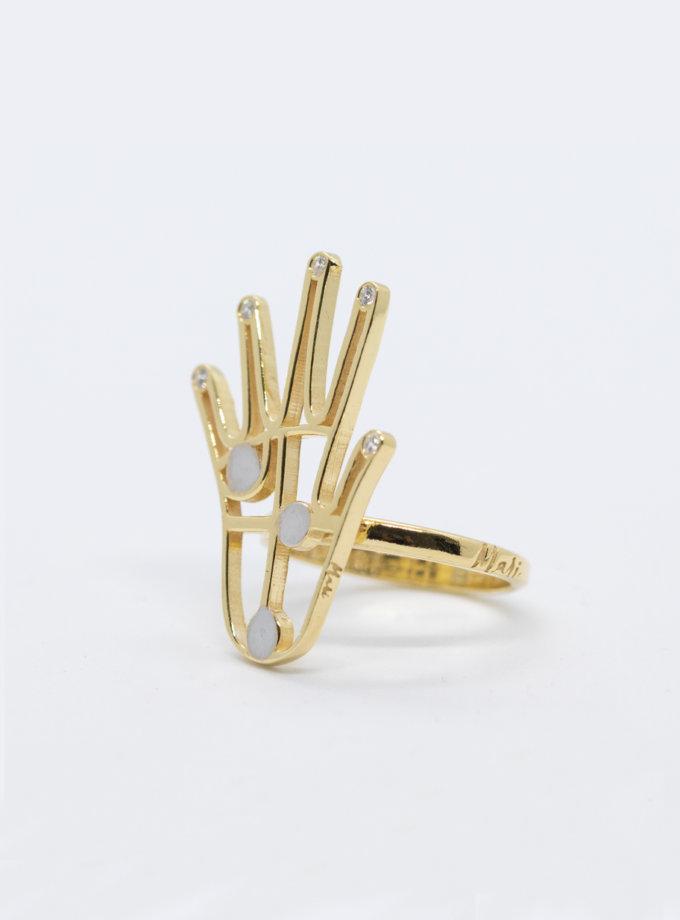 Серебряные кольцо FiveFi yellow MJA_18719, фото 1 - в интернет магазине KAPSULA