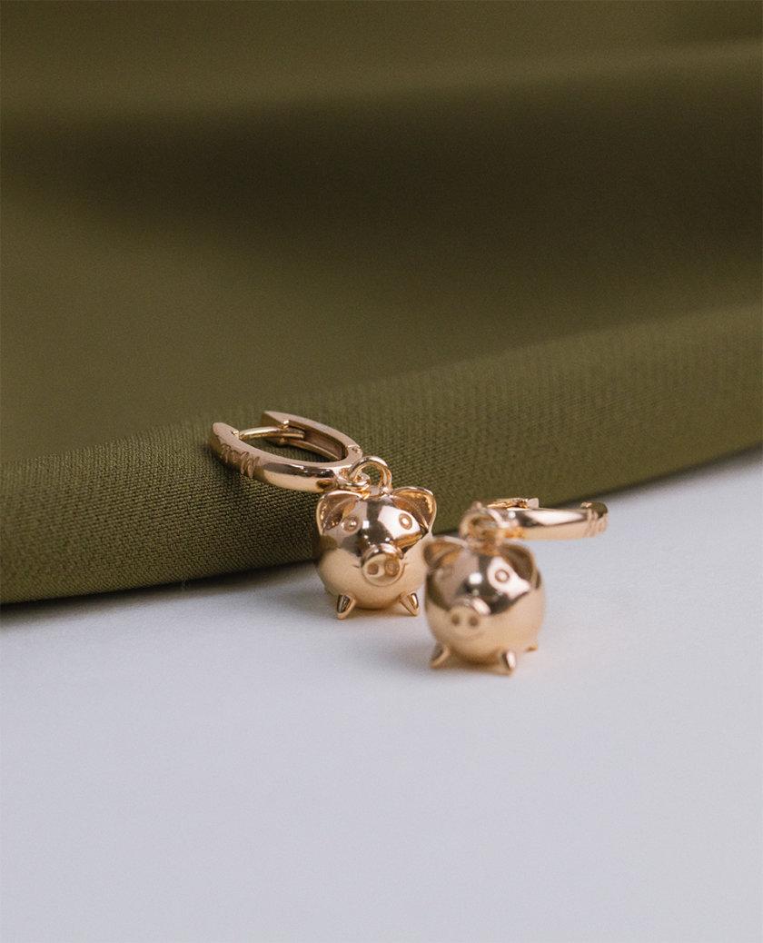 Серебряные сережки MiliPi rose MJA_87012, фото 1 - в интернет магазине KAPSULA