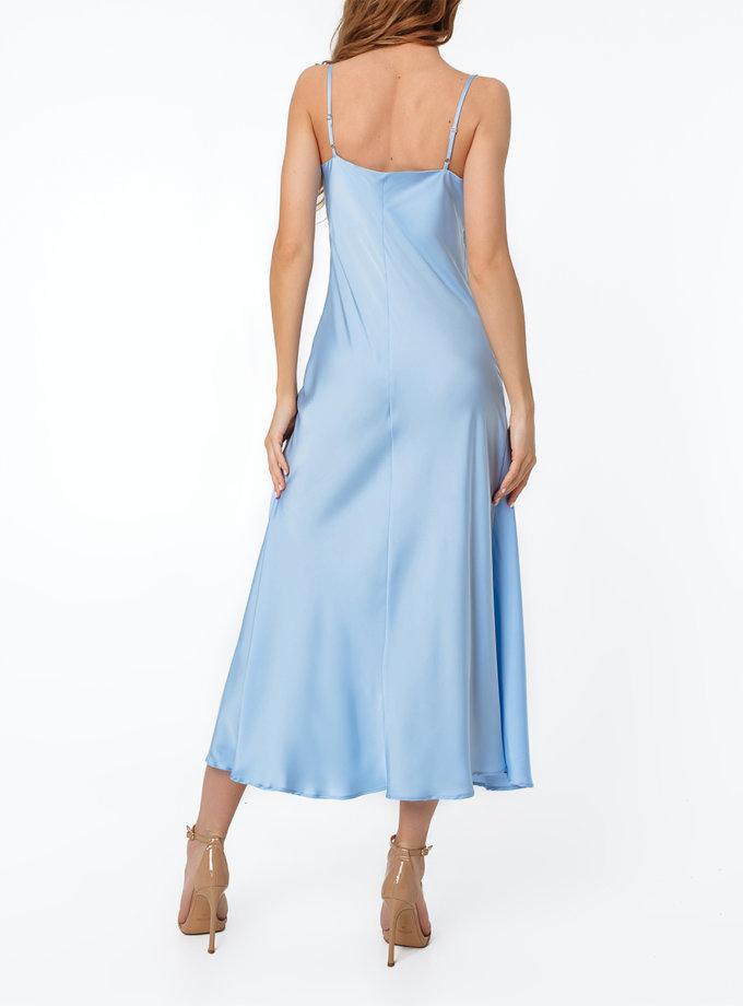 Платье-комбинация миди MGN_1713BL, фото 1 - в интернет магазине KAPSULA