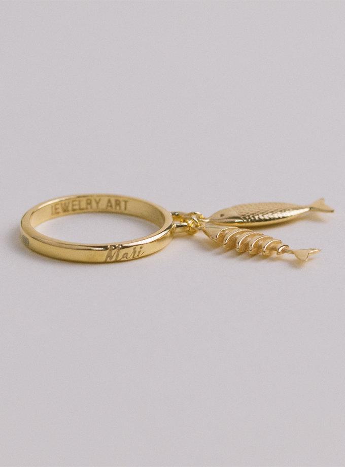 Серебряное кольцо Dualit yellow MJA_18707, фото 1 - в интернет магазине KAPSULA