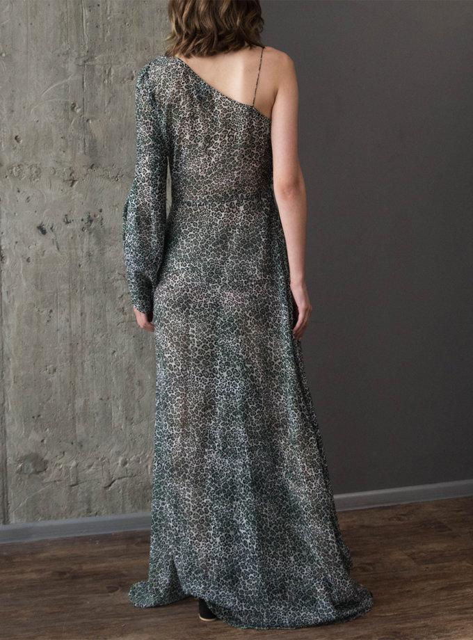 Платье макси на одно плечо ZHRK_zkss21000201, фото 1 - в интернет магазине KAPSULA