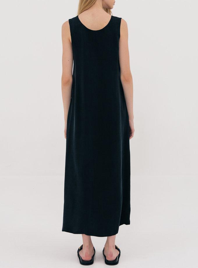 Платье миди свободного кроя SHKO_21025002, фото 1 - в интернет магазине KAPSULA