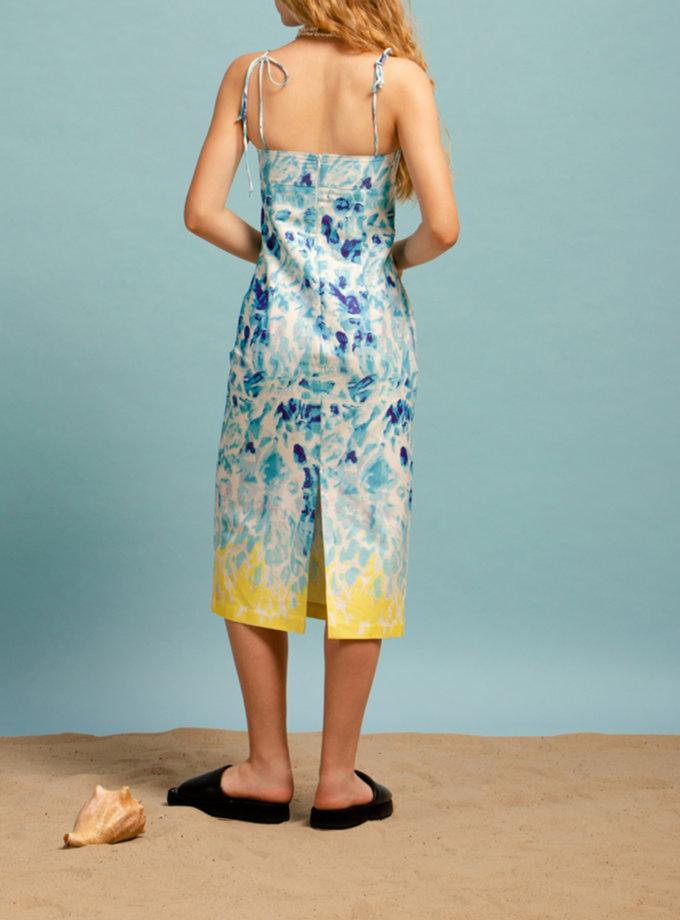 Бавовняний сарафан NM_450b, фото 1 - в интернет магазине KAPSULA