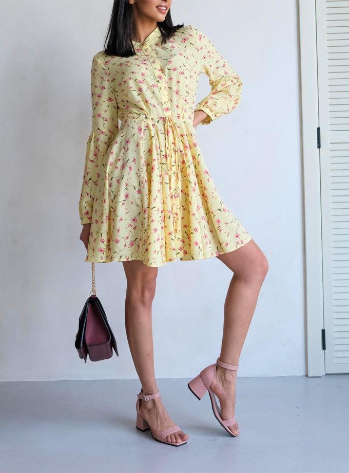 Платье мини на пуговицах Angie ED_o_PLE-34, фото 1 - в интернет магазине KAPSULA