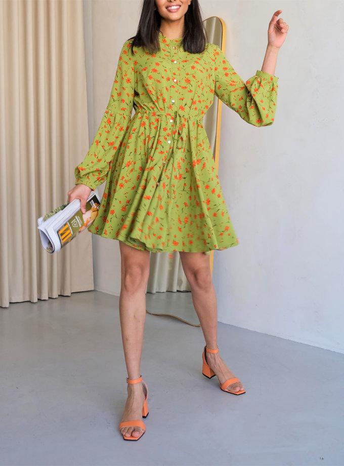 Платье мини на пуговицах Angie ED_o_PLE-05, фото 1 - в интернет магазине KAPSULA