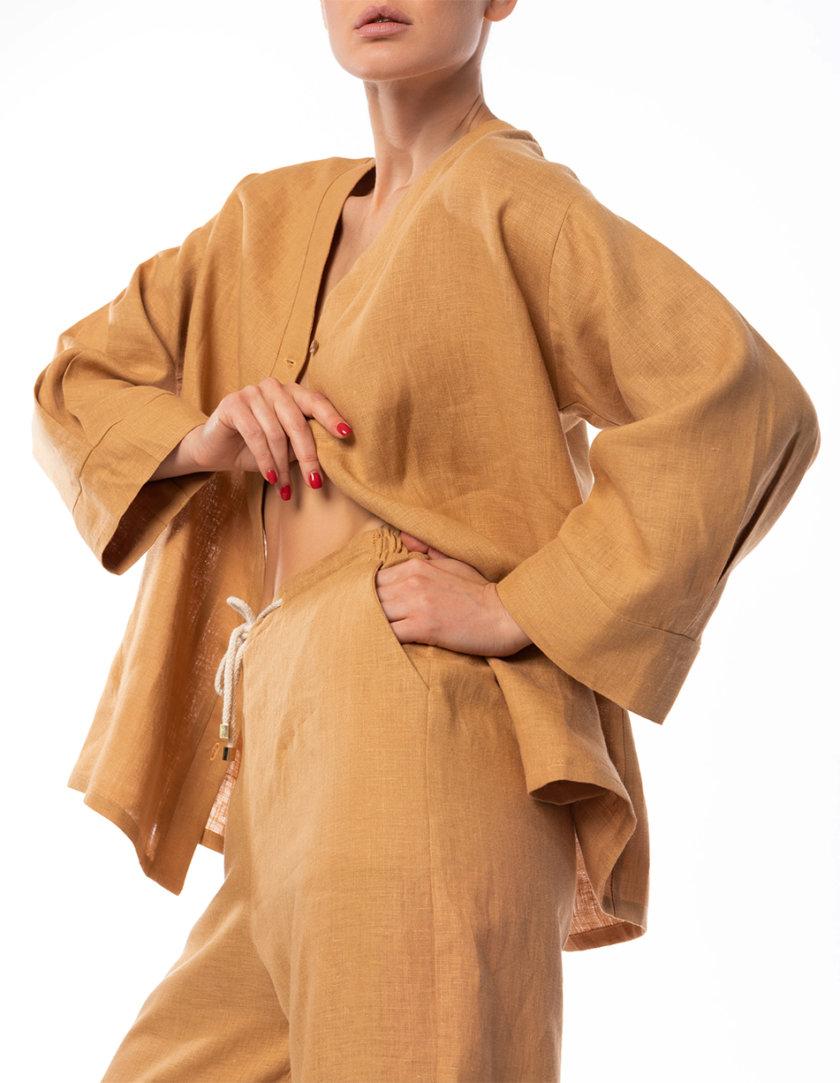 Льняная рубашка Sahara DONT_A1822, фото 1 - в интернет магазине KAPSULA