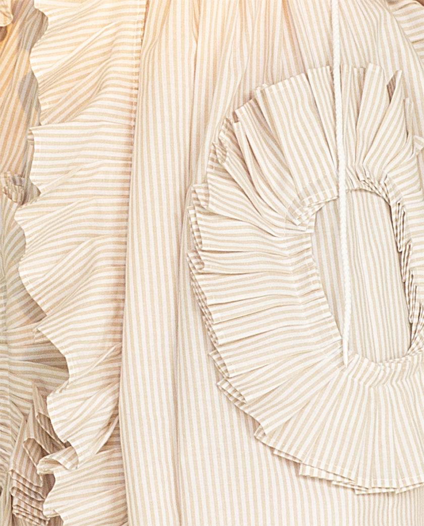 Хлопковое платье мини MF-CR19-19, фото 1 - в интернет магазине KAPSULA