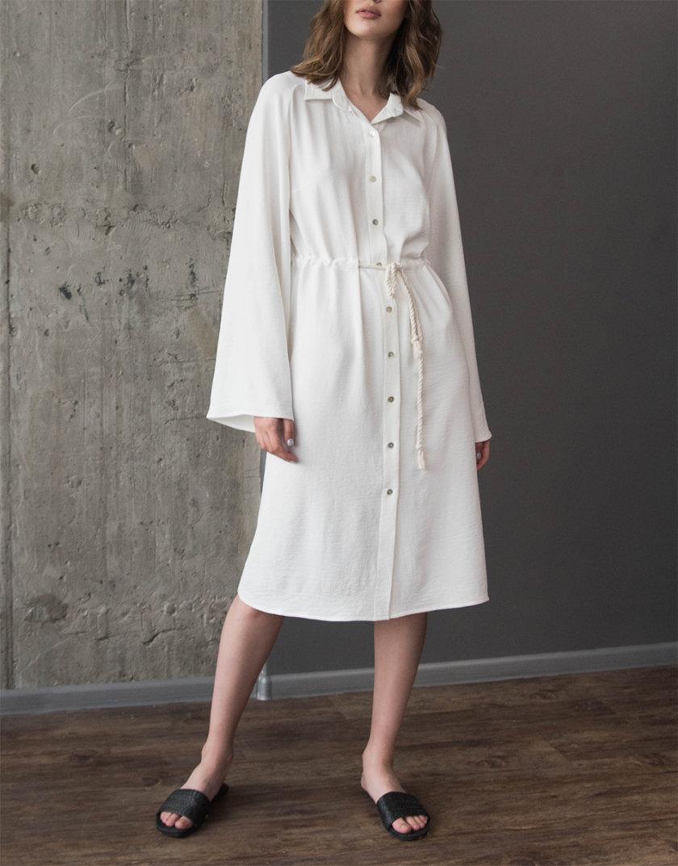 Платье-рубашка миди ZHRK_zkss210021, фото 1 - в интернет магазине KAPSULA
