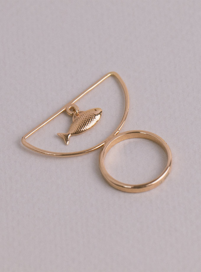 Серебряное кольцо SelFish rose MJA_18709, фото 1 - в интернет магазине KAPSULA