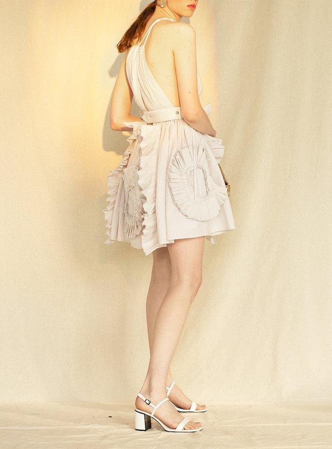 Бавовняна сукня міні MF-CR19-19, фото 1 - в интернет магазине KAPSULA