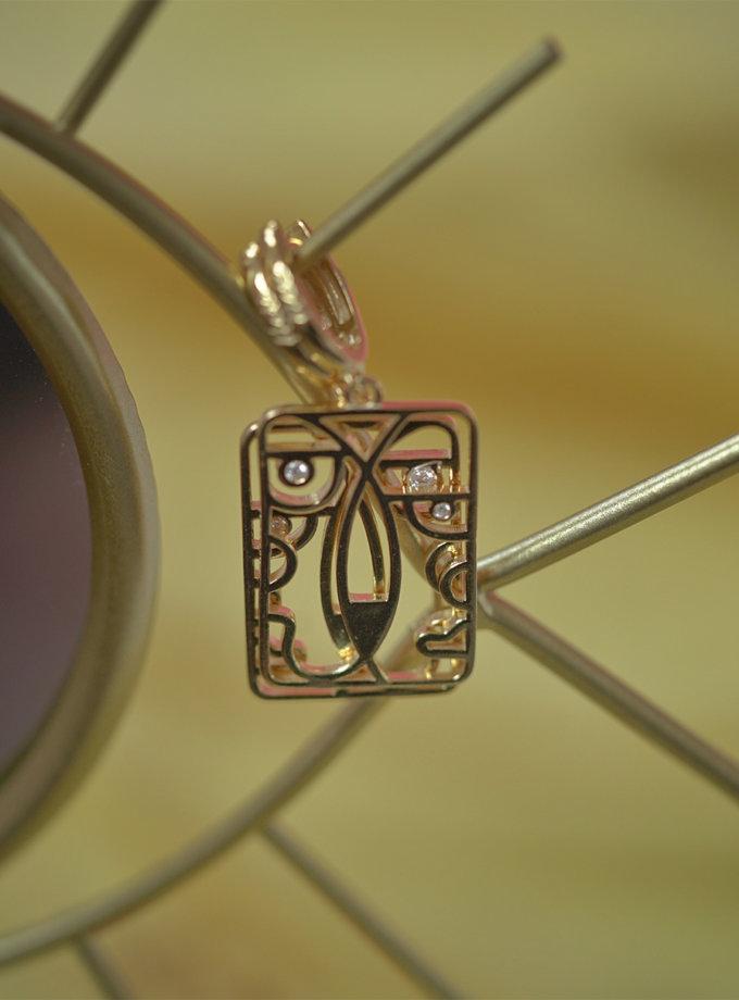 Серебряные сережки Togez yellow MJA_87019, фото 1 - в интернет магазине KAPSULA