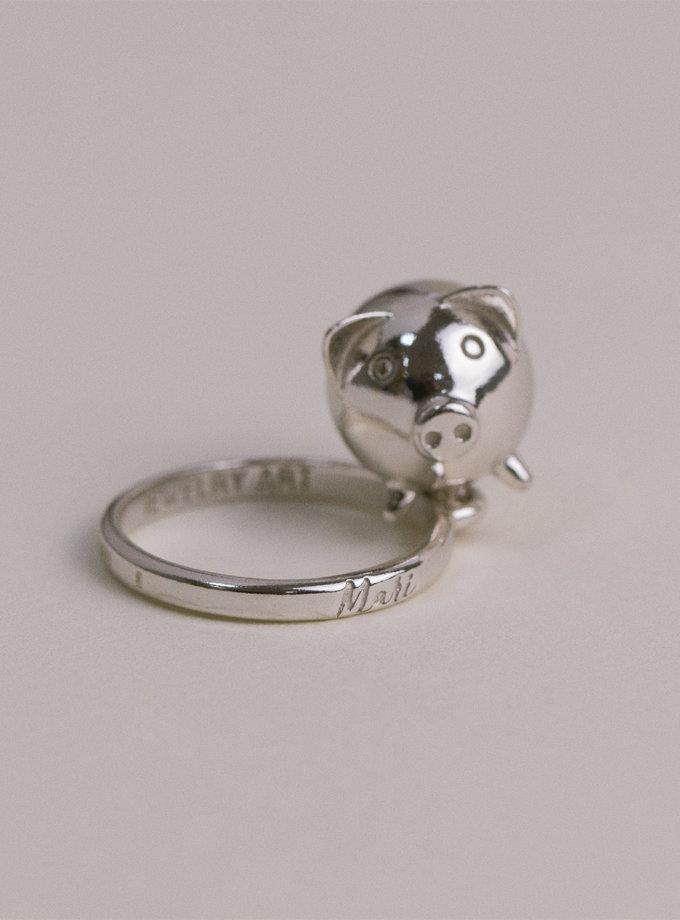 Серебряное кольцо MiliPi white MJA_18714, фото 1 - в интернет магазине KAPSULA