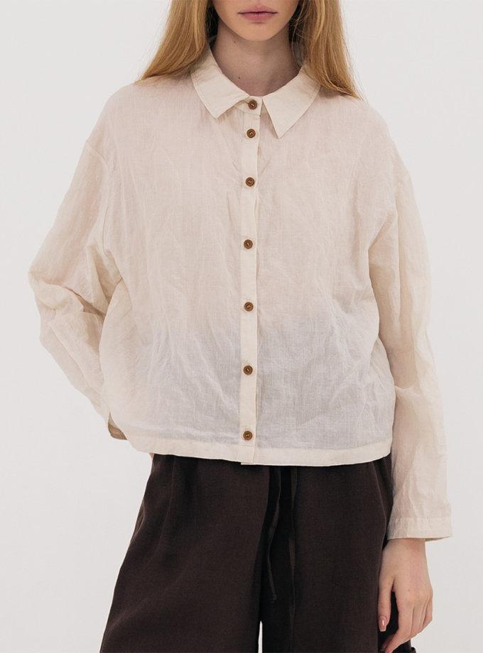 Укороченная рубашка SHKO_21018001, фото 1 - в интернет магазине KAPSULA