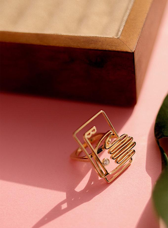 Серебряное кольцо IdSaid yellow MJA_18716, фото 1 - в интернет магазине KAPSULA