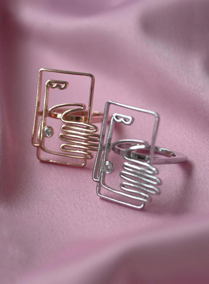 Серебряное кольцо IdSaid white MJA_18717, фото 1 - в интернет магазине KAPSULA