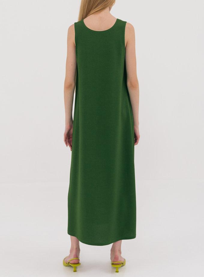 Платье миди свободного кроя SHKO_21025001, фото 1 - в интернет магазине KAPSULA