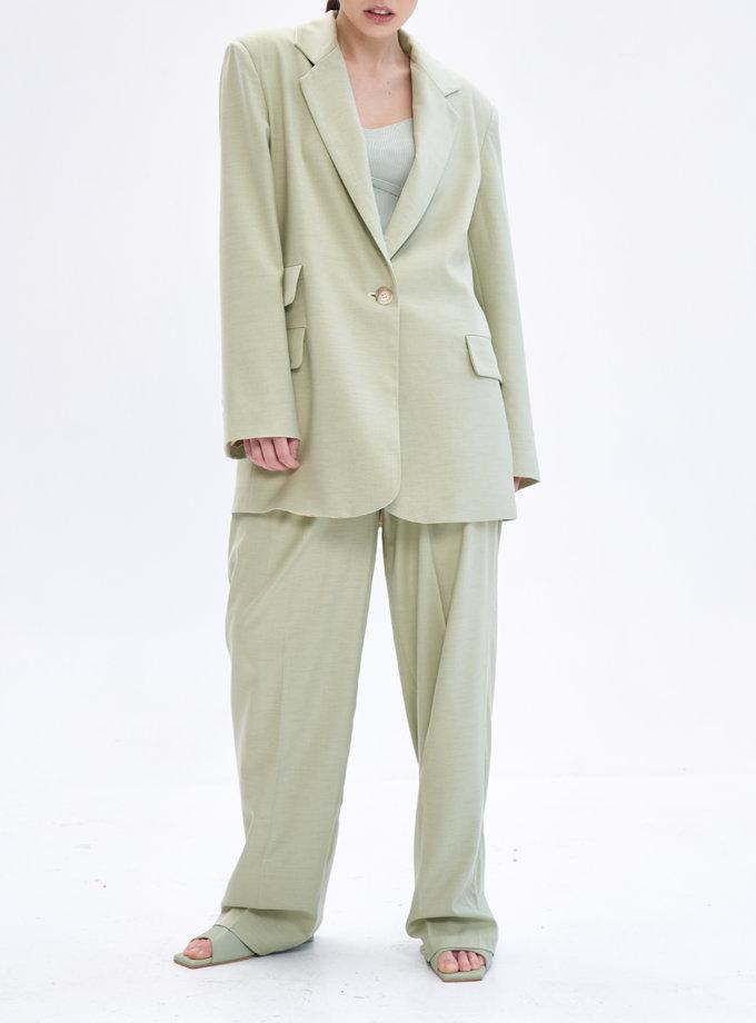 Костюм із брюками палаццо TOTE_BS-S02-pants-kapsula, фото 1 - в интернет магазине KAPSULA