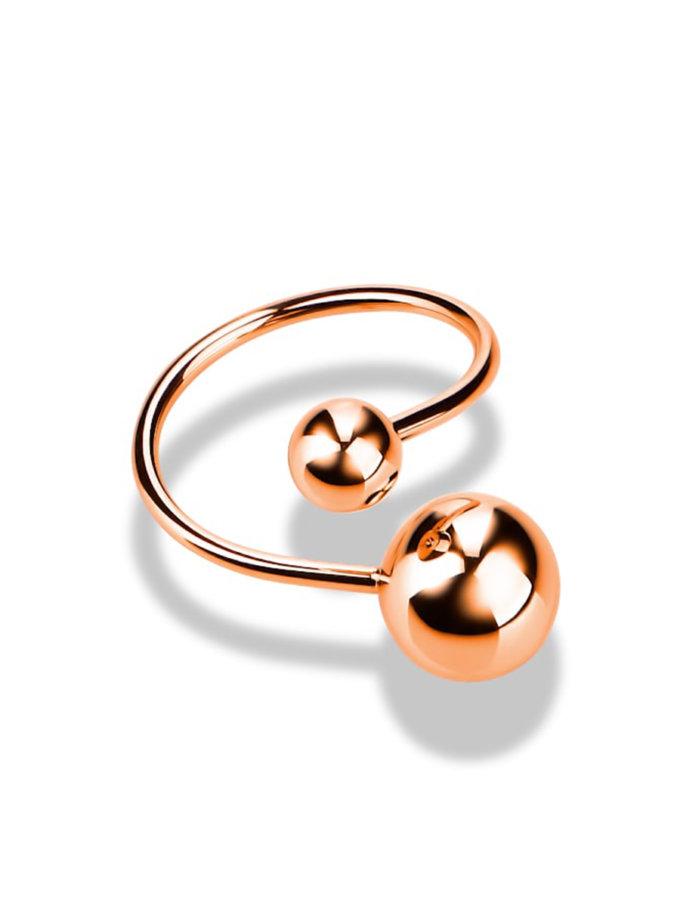 Кольцо из красного золота DUD_01915_01_0, фото 1 - в интернет магазине KAPSULA