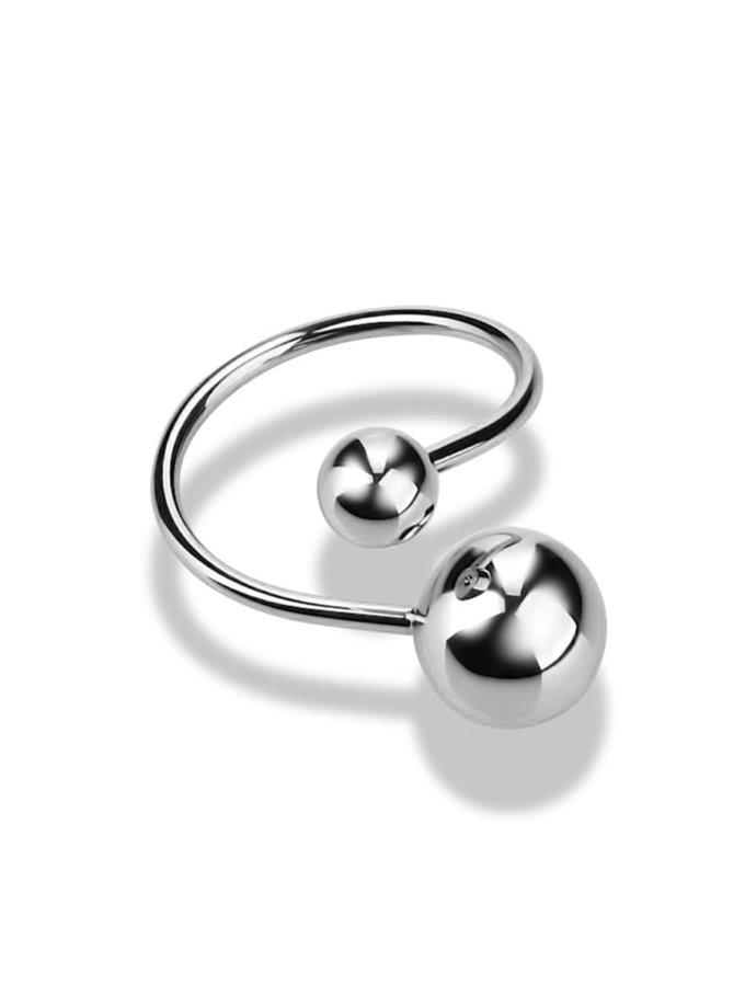 Кольцо из белого золота DUD_01915_02_1, фото 1 - в интернет магазине KAPSULA
