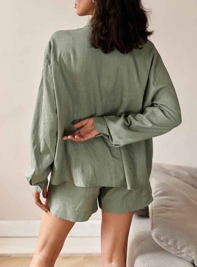 Костюм с шортами и рубашкой NVL_SS2021_3, фото 1 - в интернет магазине KAPSULA