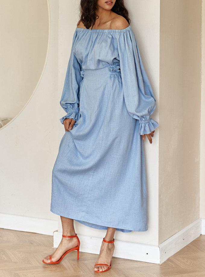 Платье с открытой спиной NVL_SS2021_2, фото 1 - в интернет магазине KAPSULA