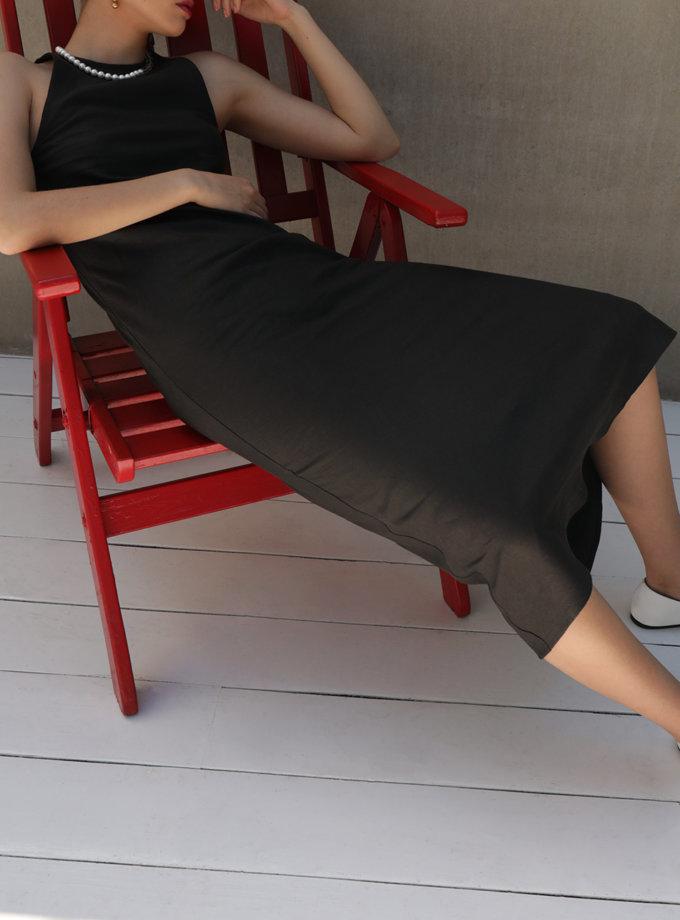Сукня міді з льону IRRO_IR_SM21_DD_013, фото 1 - в интернет магазине KAPSULA
