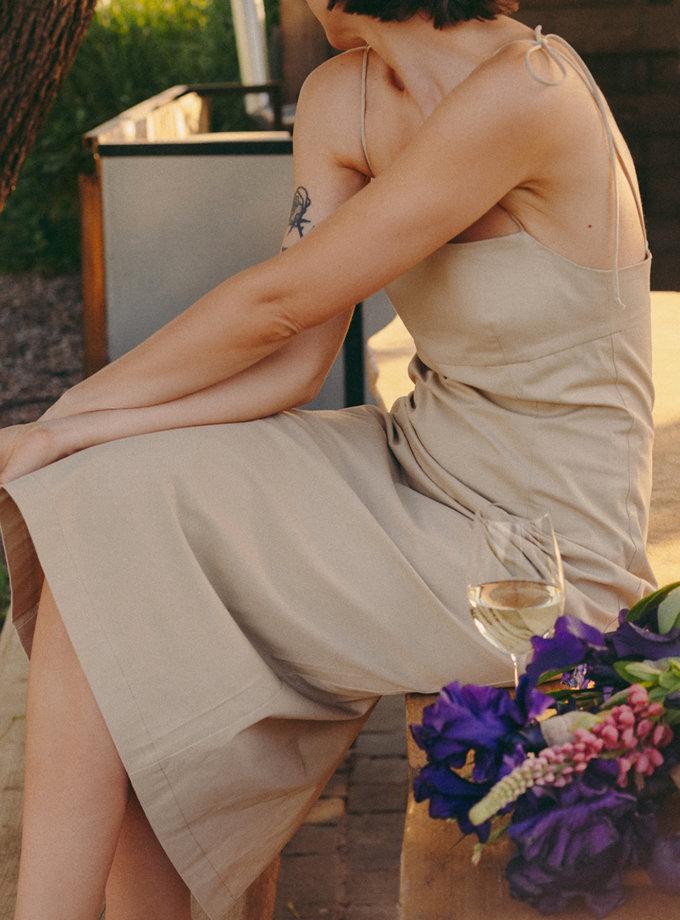 Бавовняний сарафан NM_450m, фото 1 - в интернет магазине KAPSULA