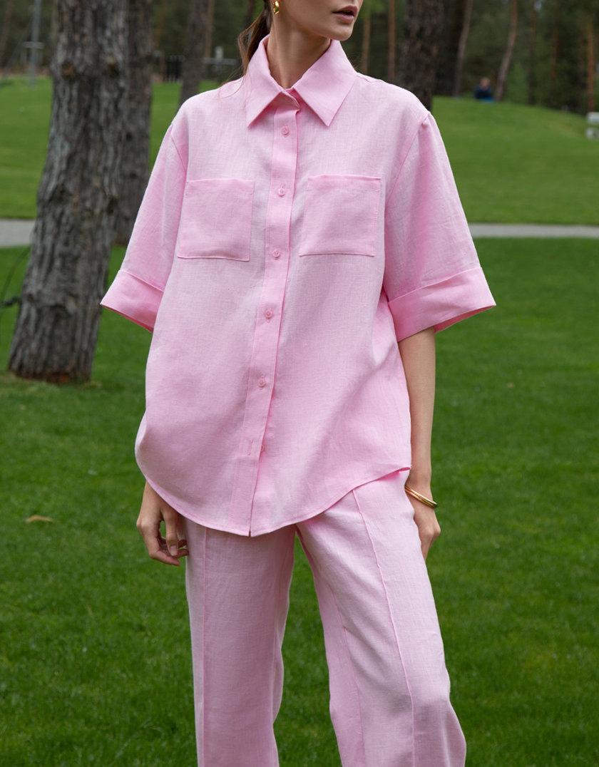 Льняная рубашка и брюки LP_LP21SM-2-1, фото 1 - в интернет магазине KAPSULA