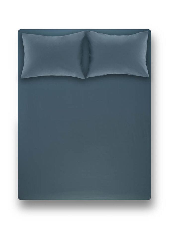 Простынь на резинке с наволочками Laura Petrol PN_svt-2000022278041, фото 1 - в интернет магазине KAPSULA