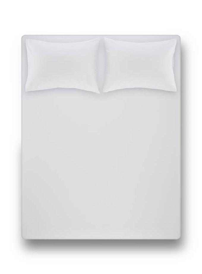 Простынь на резинке с наволочками Laura White PN_svt-2000022277891, фото 1 - в интернет магазине KAPSULA
