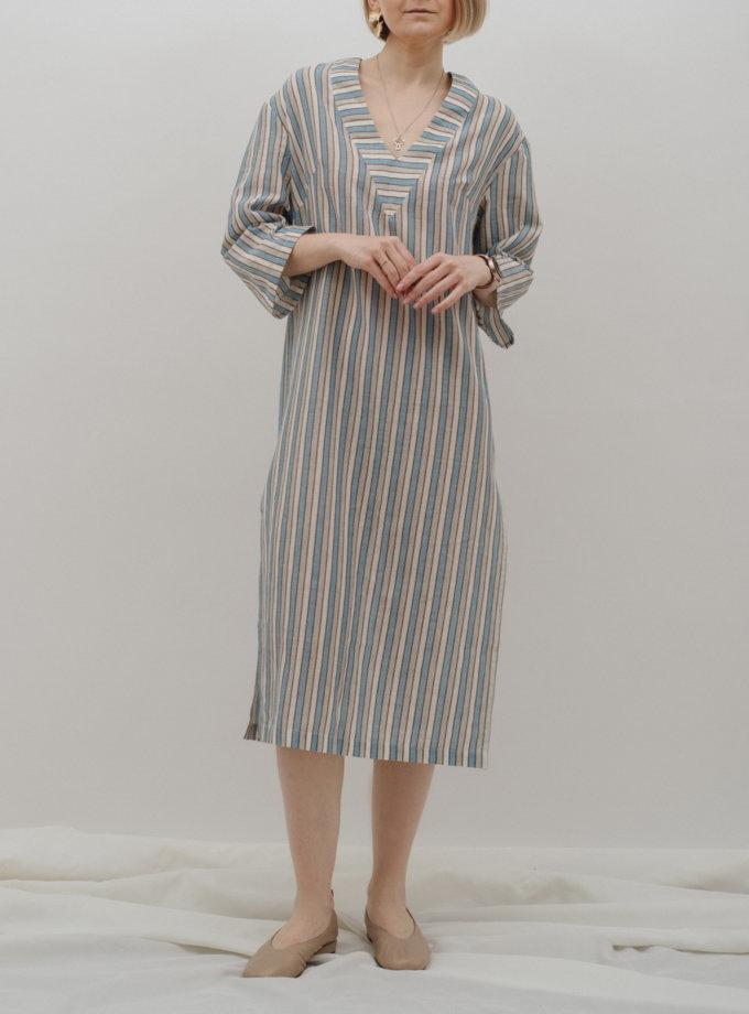 Хлопковое платье-туника MNTK_MTS2156, фото 1 - в интернет магазине KAPSULA