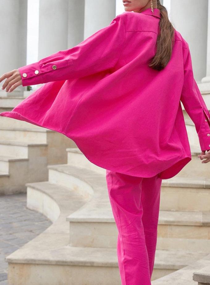 Джинсова сорочка Kira MC_MY5521-2, фото 1 - в интернет магазине KAPSULA