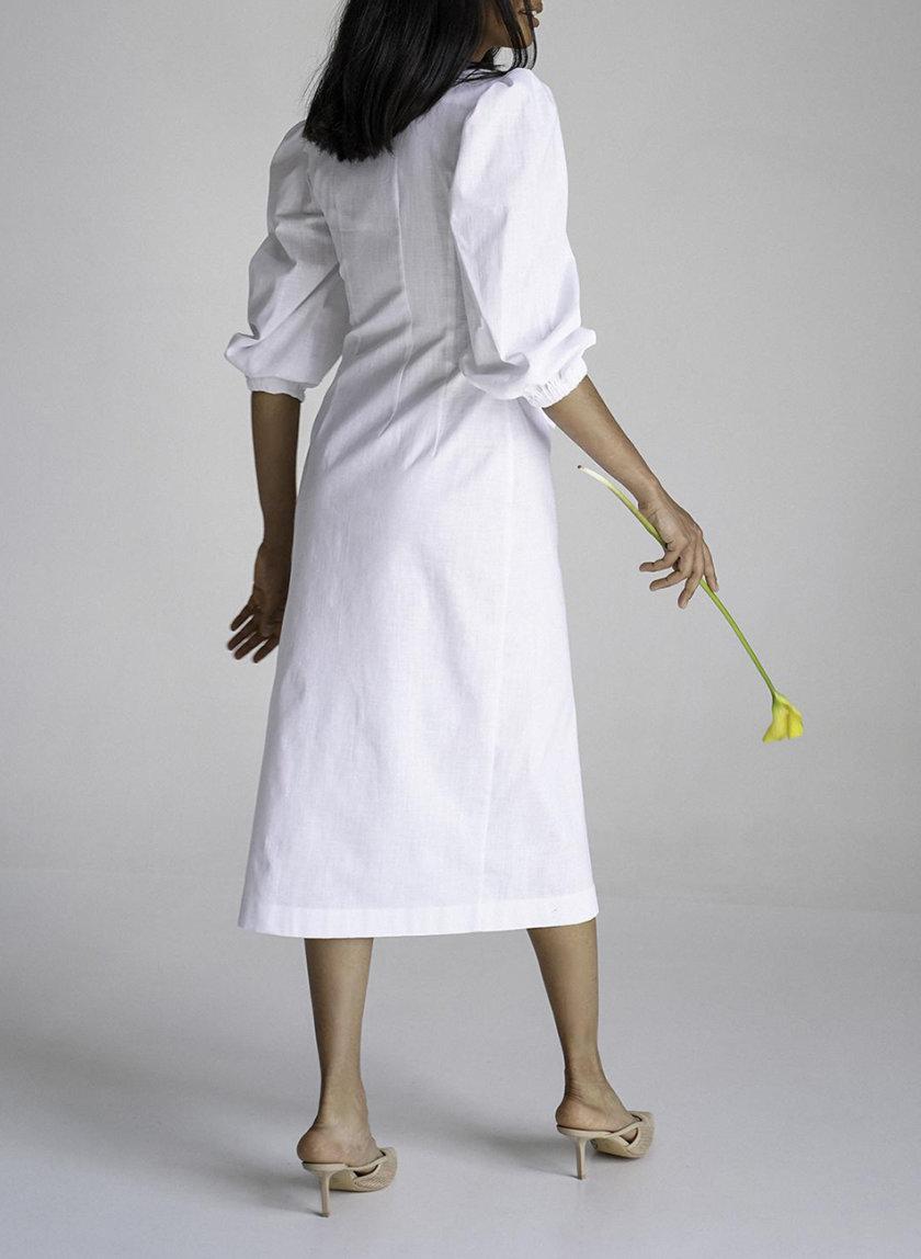 Платье из льна Marry MC_MY7021-3, фото 1 - в интернет магазине KAPSULA